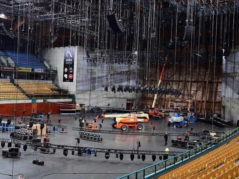 """Portugalija jau įpusėjo ruošti ypatingą sceną """"Eurovizijai"""""""