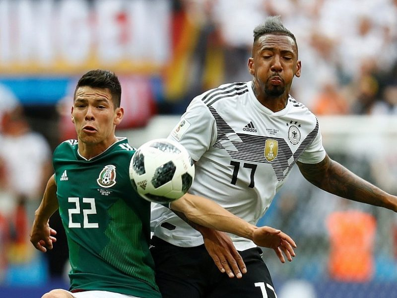 Meksikos rinktinė sutramdė Vokietijos puolimo mašiną