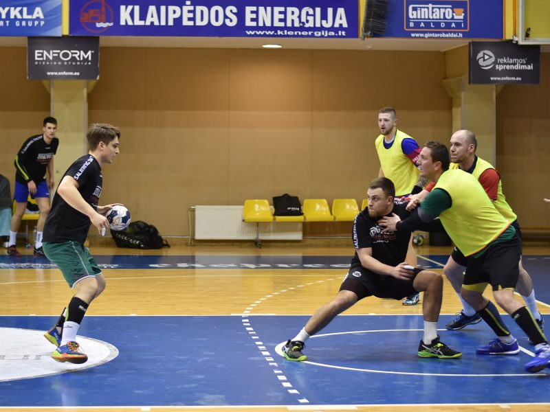 Klaipėdoje – Lietuvos rankinio rinktinės kovos