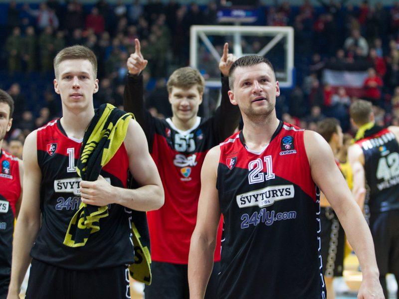 """Europos taurė: """"Lietuvos rytas"""" sutriuškino """"Albą"""""""