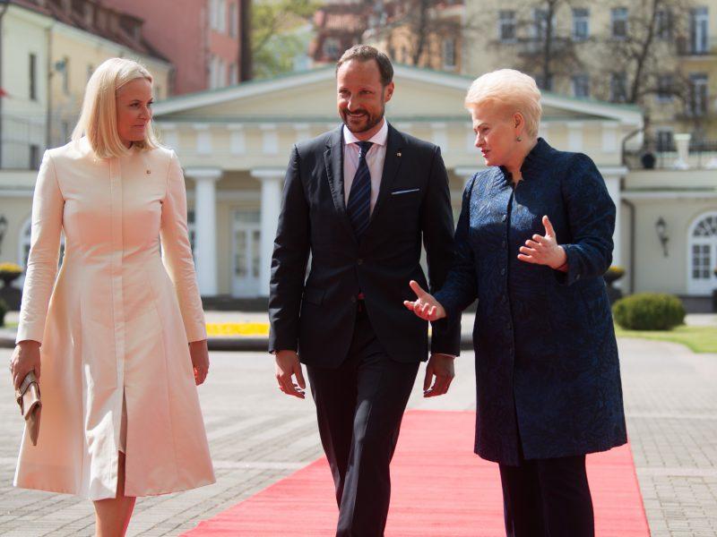 Norvegijos karališkosios poros vizitas