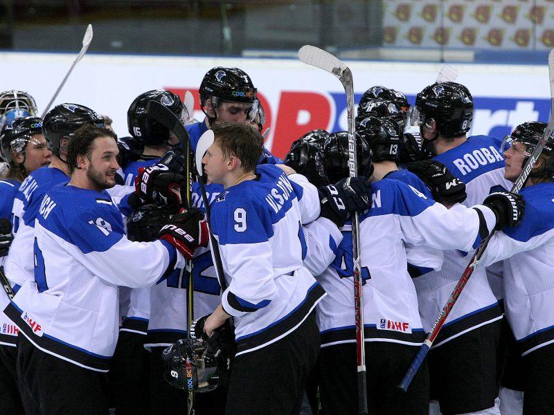 Ledo ritulys: Estija – Ukraina 2:0