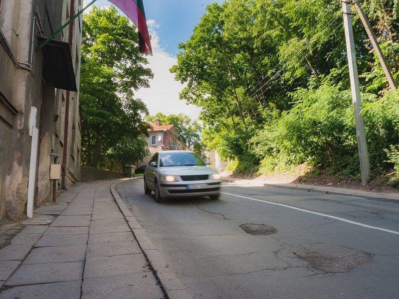 Žada pokyčius Žemaičių gatvėje: kas bus daroma?