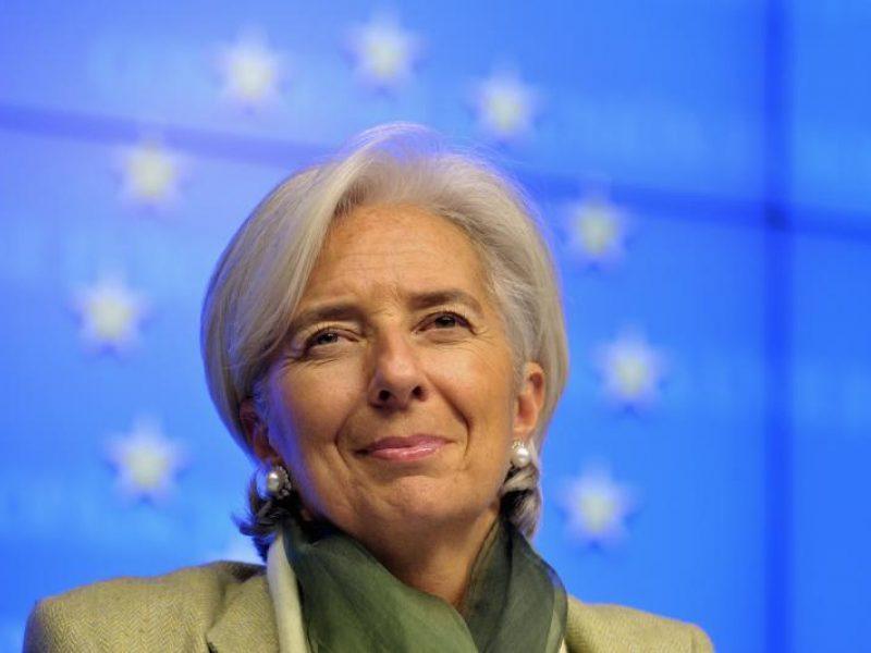 Ch. Lagarde: nematau JAV ekonomikos nuosmukio ženklų