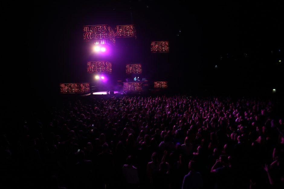 """""""Žalgirio"""" arenoje – šokių muzikos gerbėjų fiesta"""