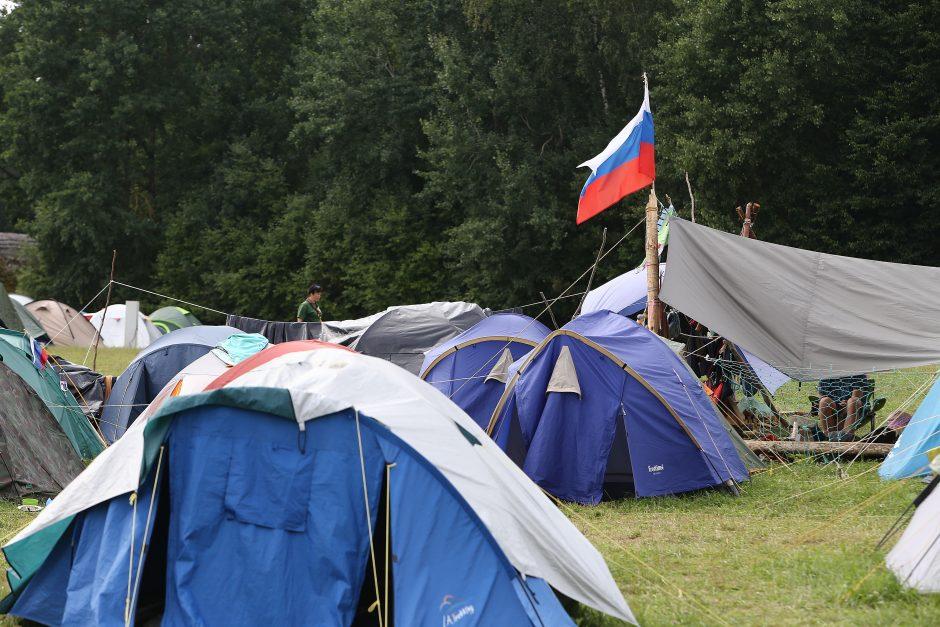 """100-mečio stovykla """"Laužų karta"""""""