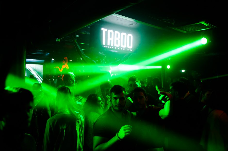 "Naktinės linksmybės ""Taboo"" klube"