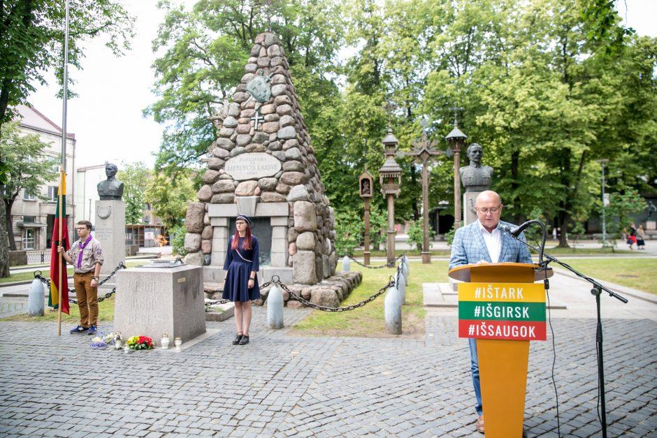 Atminimo akcija Kaune: tremtinių vardai skambės visą naktį