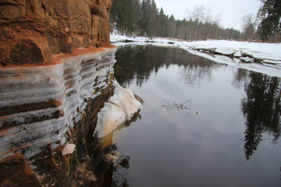 Latvijoje įgriuvo dalis ilgiausio šalies urvo