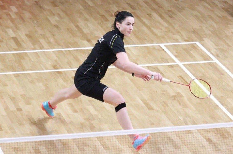 Badmintono čempionate kauniečiai be apdovanojimų neliko