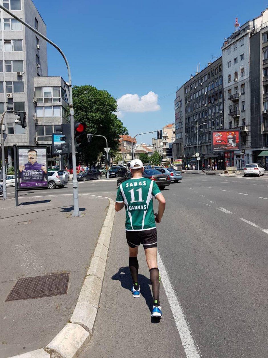 Kaunietis Belgrade išbėgo