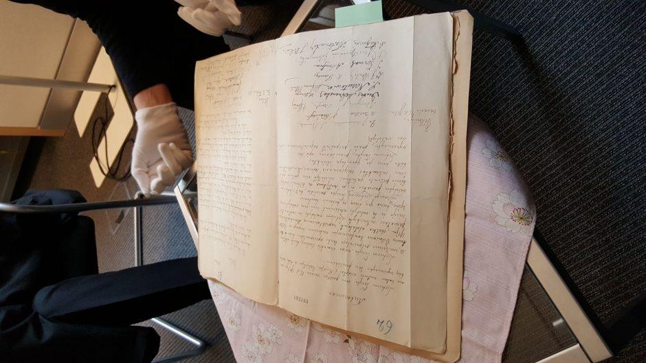L. Mažylis: atrastas Vasario 16-osios aktas rašytas J. Šaulio ranka