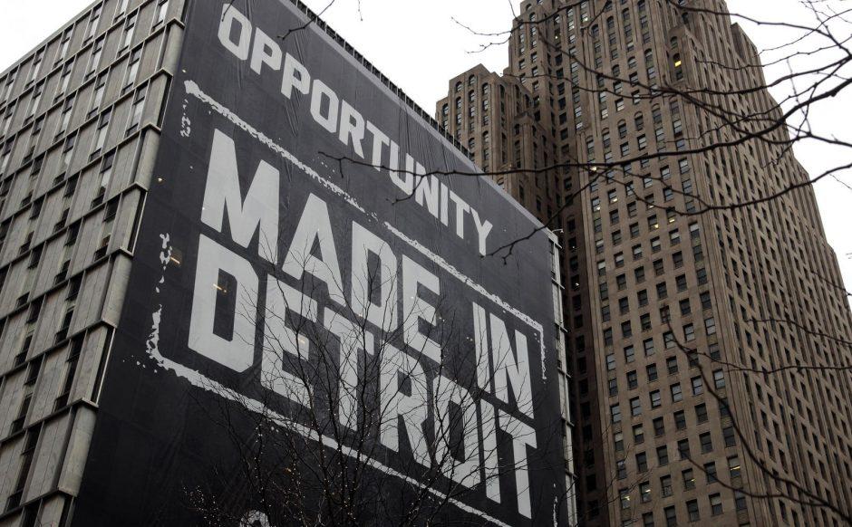 Klestintis Detroitas virto didžiausiu bankrutavusiu JAV miestu