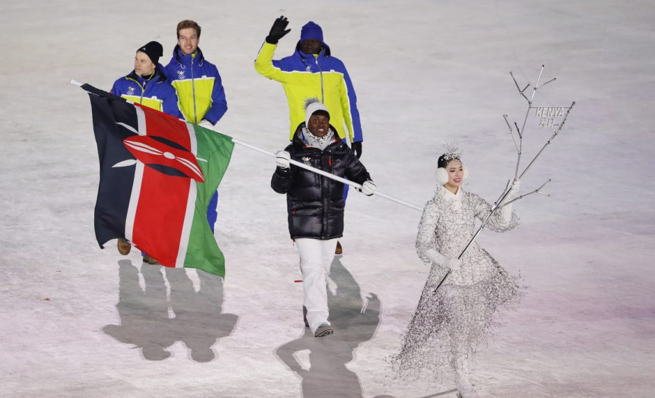 Žiemos olimpinių žaidynių atidarymas