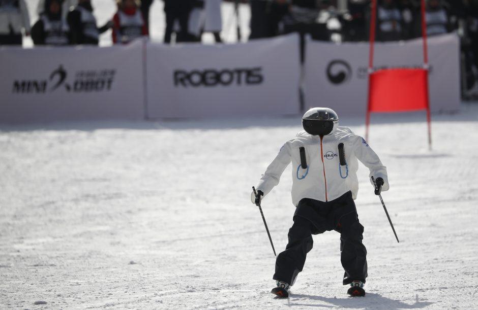 Robotų slidinėjimo lenktynės