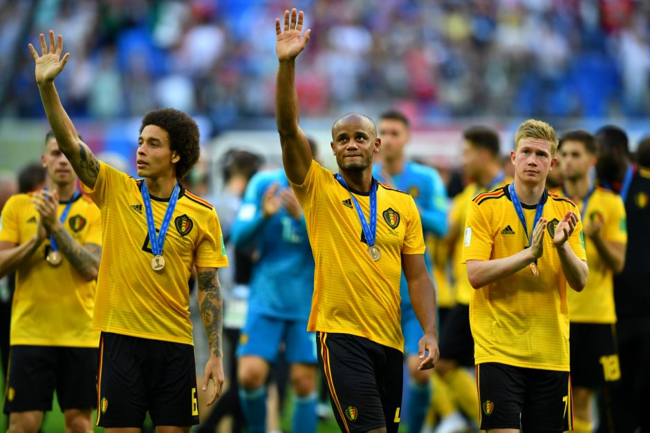 Pasaulio futbolo čempionatas: Belgija - Anglija 2:0
