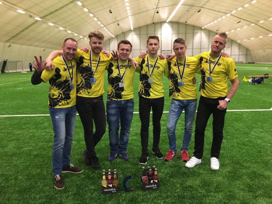 Lietuvos komandos dalyvavo tarptautiniame lėkščiasvydžio turnyre