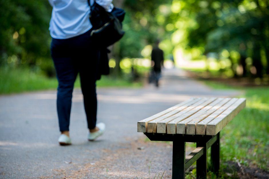 Vingio parke – malonūs pokyčiai