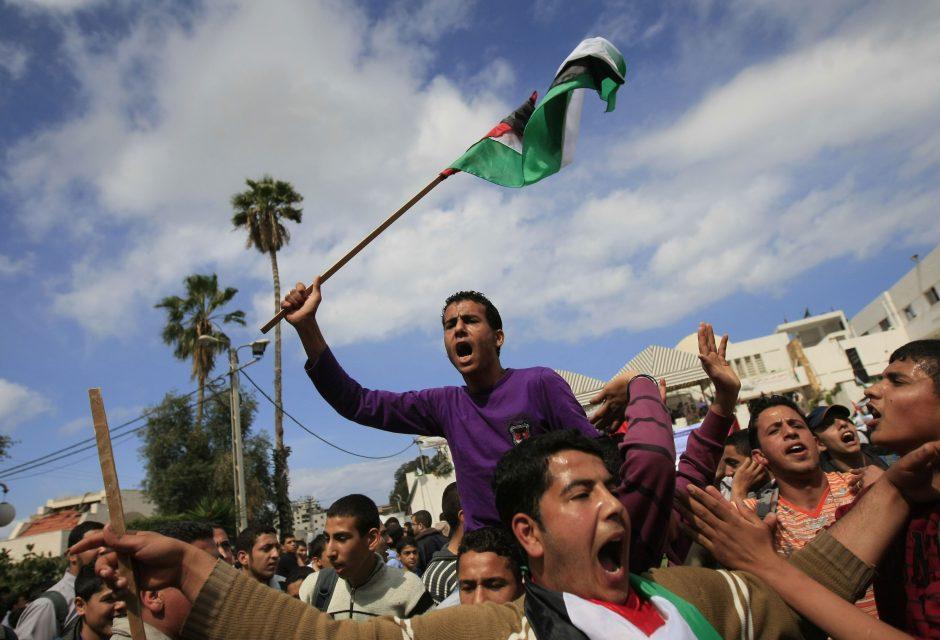 Derybų su Palestina sopulys – pastarosios teritorijoje dygstančios žydų nausėdijos