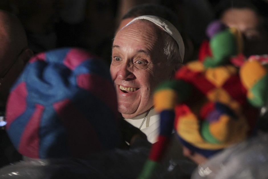 Popiežius perspėja Lotynų Ameriką neįteisinti narkotikų