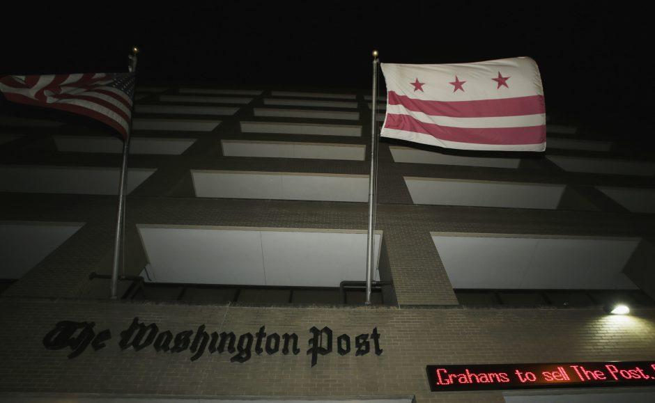 """250 mln. JAV dolerių: tiek už """"The Washington Post"""" sumokėjo naujasis savininkas"""