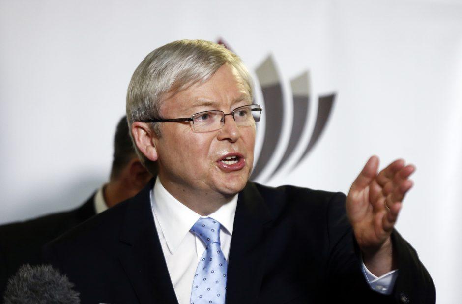 Australijos premjeras gėjų santuokų temą įtraukė į rinkimų kampaniją