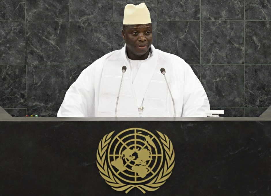 Gambija pasitraukė iš Tautų Sandraugos