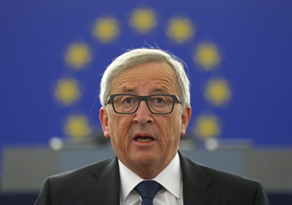 Motinos mirtis nesutrukdė J.- C. Junckeriui pasakyti metinę kalbą