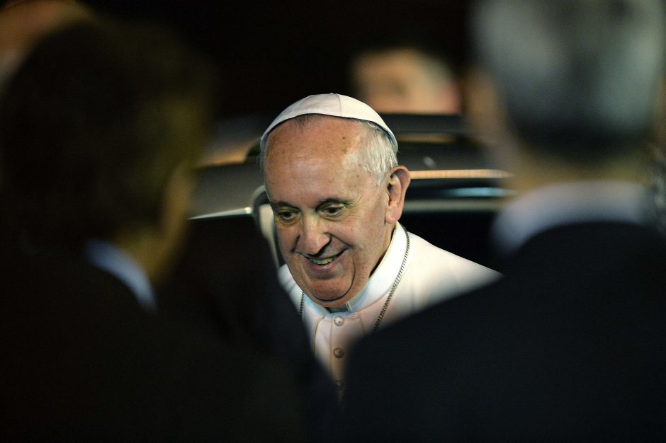 Popiežius - prieš gėjų lobizmą, savus