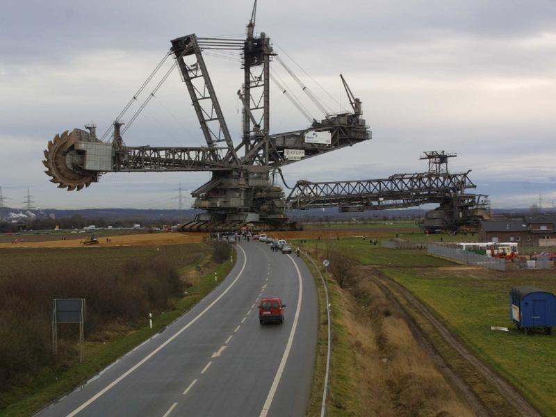 Didžiausia pasaulyje sausumos transporto priemonė