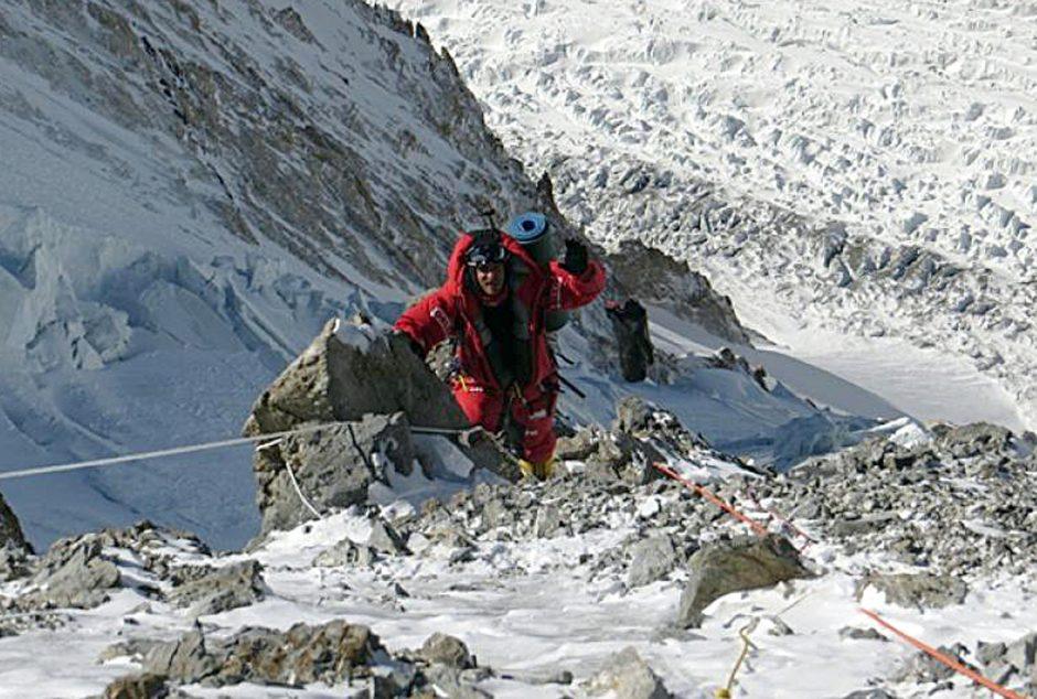 Norvegijos kalnuose takus tiesia šerpai