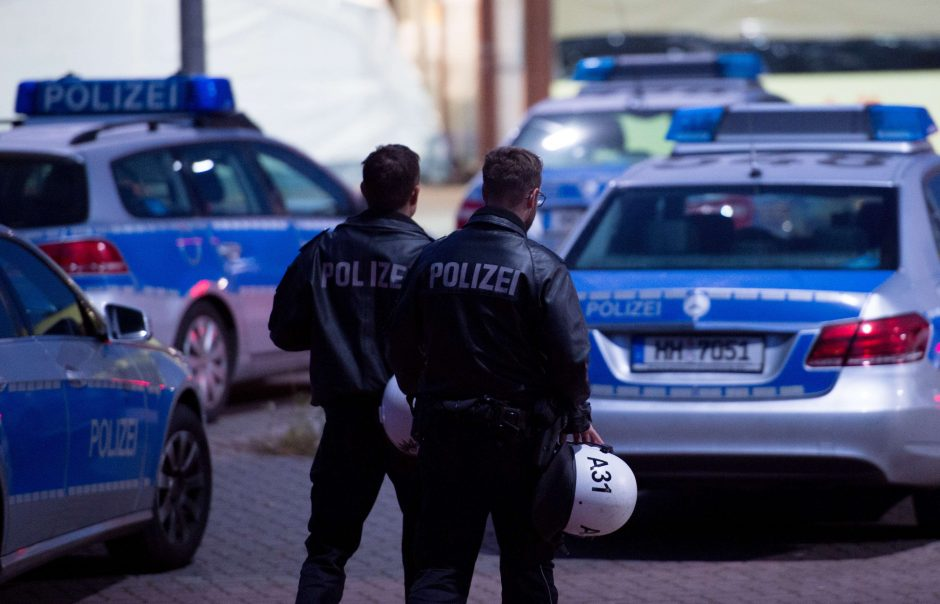 Vokietijos pabėgėlių centre kilo sirų ir afganų susirėmimai