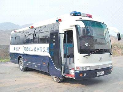 Kinijoje – autobusai egzekucijoms vykdyti