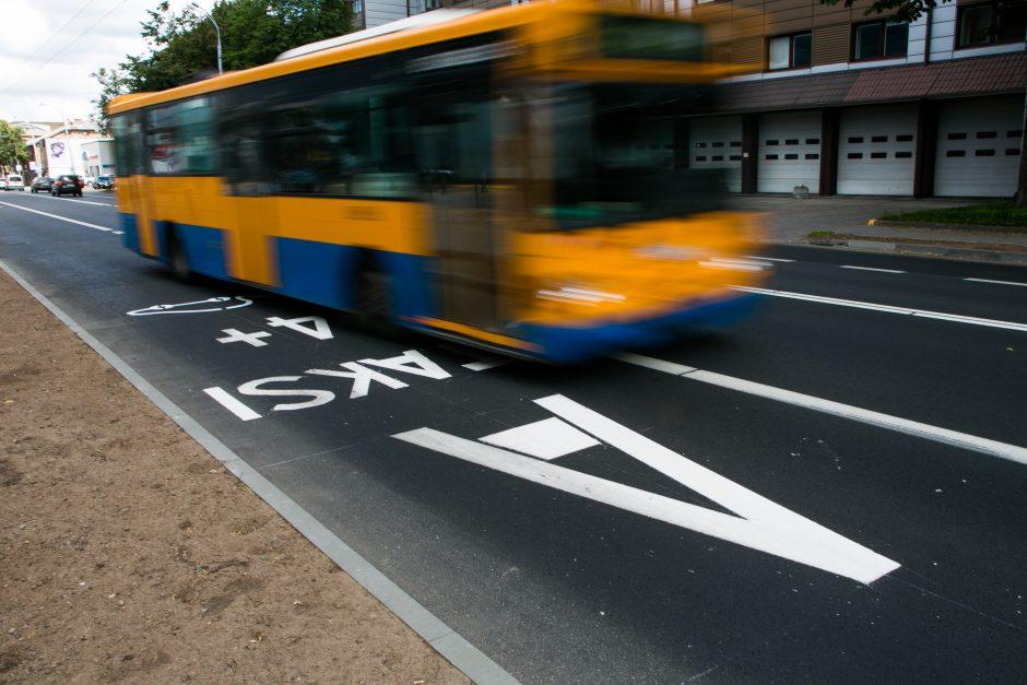 Vilniaus policija išaiškino virtinę neleistinai A juosta važiavusių pažeidėjų