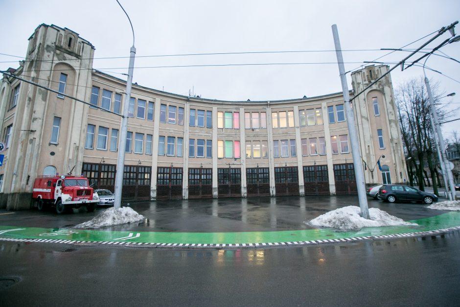 Lietuvą 100-mečio proga sveikina ir Kauno ugniagesiai