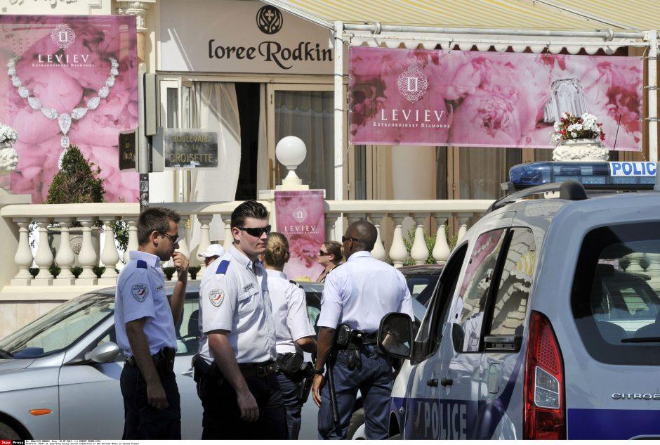 Plėšikų Kanuose grobis vertas apie 103 mln. eurų