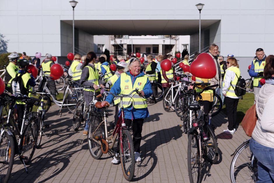 dviračių sportas ir širdies sveikata