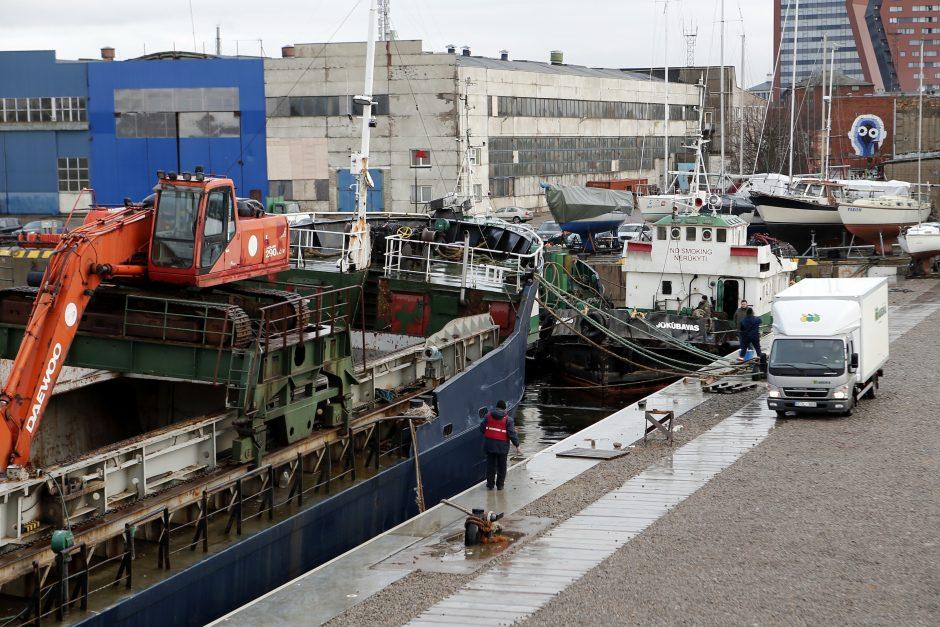 Uosto akvatorijoje užfiksuoti teršalai