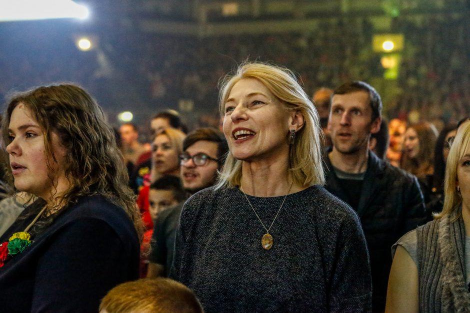 Klaipėdiečiai šventiniame koncerte sulaukė sveikinimų iš kaimynų