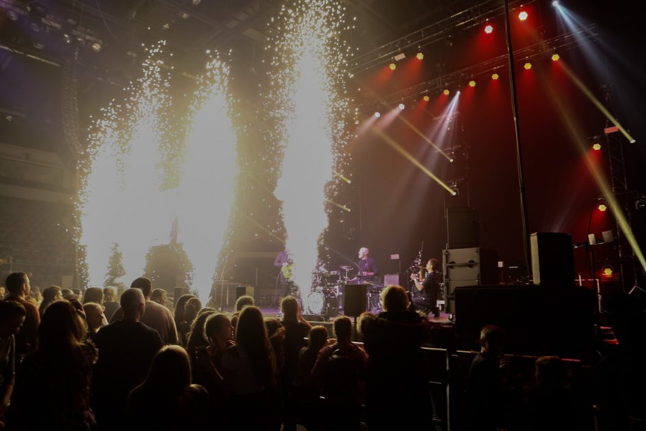 Koncertas Švyturio arenoje