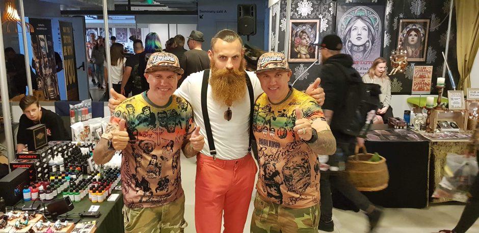 Tatuiruočių menu domėjosi ir pramogų pasaulio atstovai