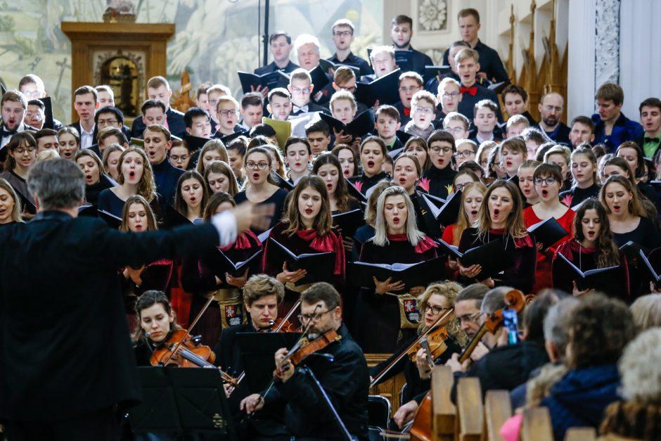 XX Lietuvos aukštųjų mokyklų studentų chorų festivalio baigiamasis koncertas