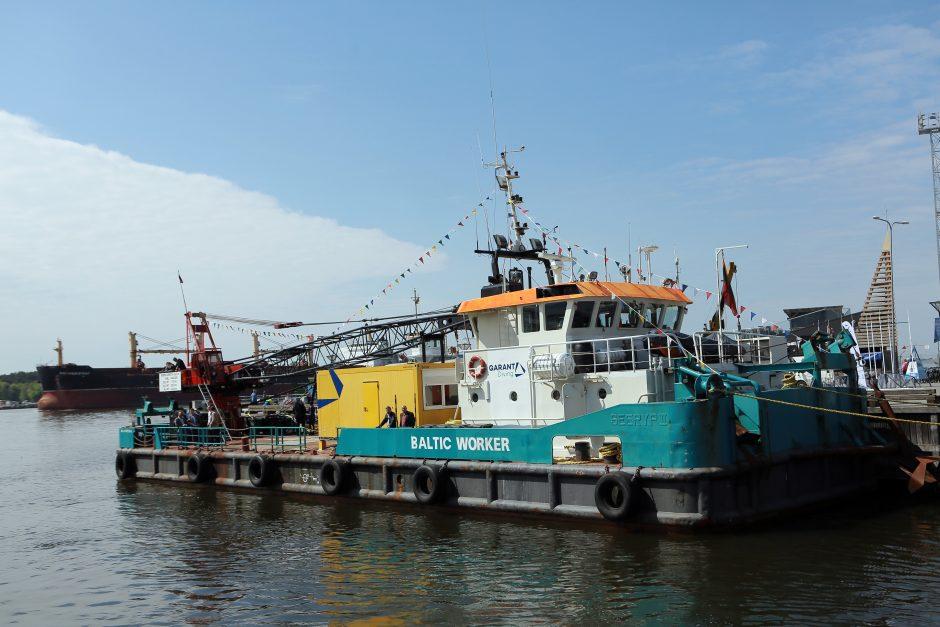 Pristatytas laivas