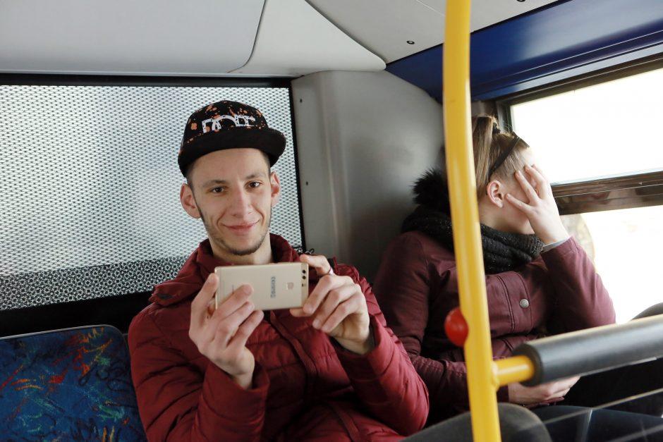 Miesto autobusuose – kultūriniai nuotykiai