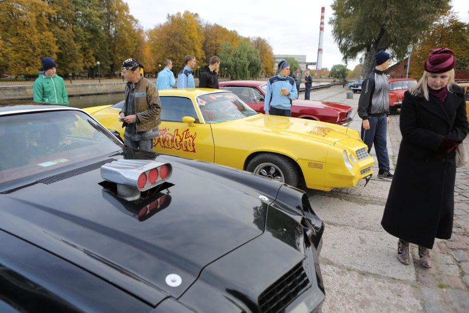 """""""Auto regatoje"""" – senoviniai automobiliai ir irklavimo varžybos"""