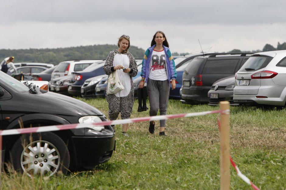 Karklės festivalyje – ir narkotikų pėdsakai