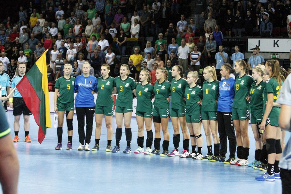 Lietuvos rankininkėms auksas išslydo iš rankų