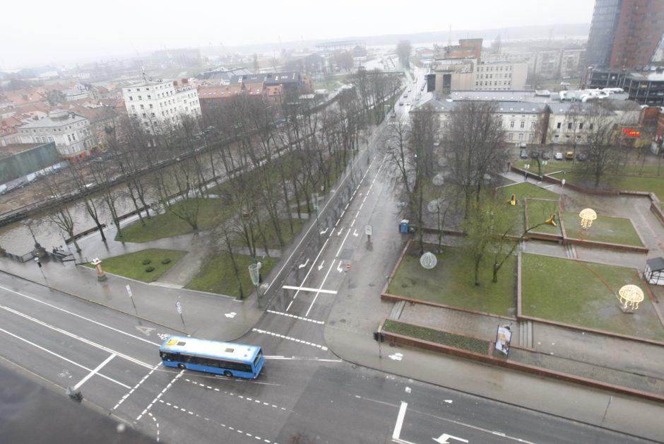 Vėliavos pakėlimas Klaipėdoje