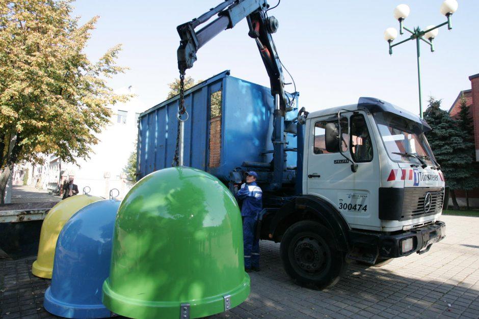 Atliekų tvarkymas Klaipėdoje: žingsnis atgal