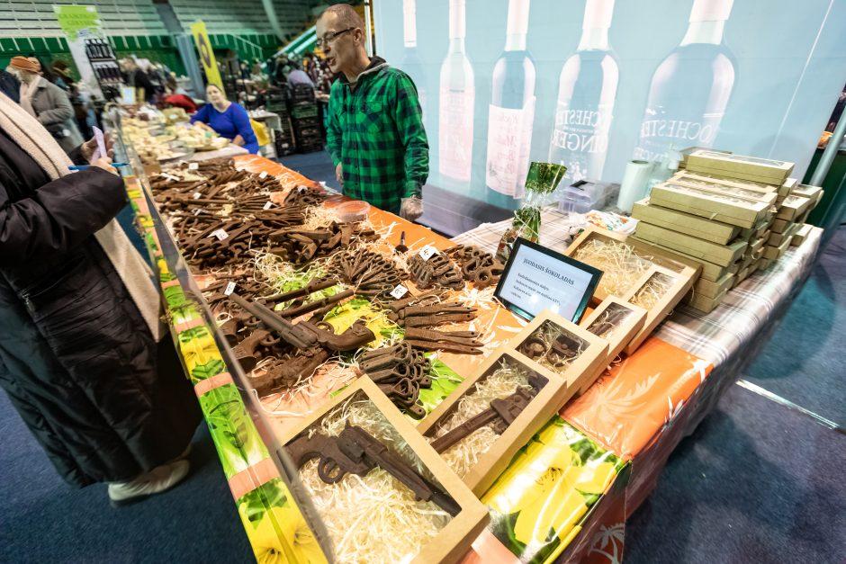 Maisto mugė Kauno sporto halėje